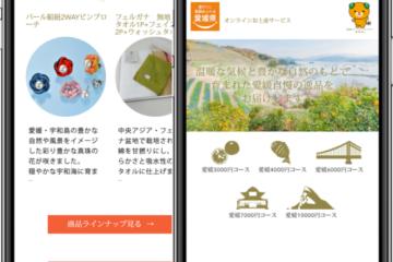 愛媛県で「みやげっと」のサービスを開始致します